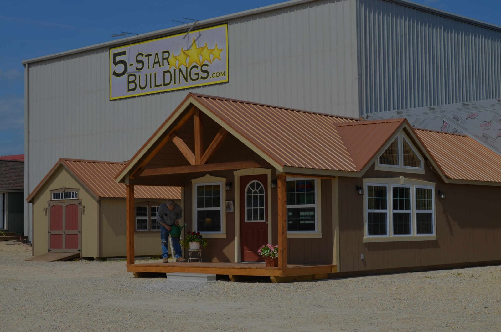 5 star buildings shed company