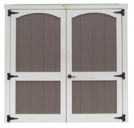 shed options doors for custom shed arch