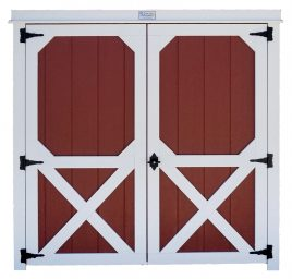 shed options doors for custom sheds traditional