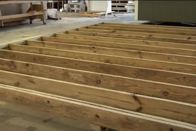 5 star shed options treated floor joists