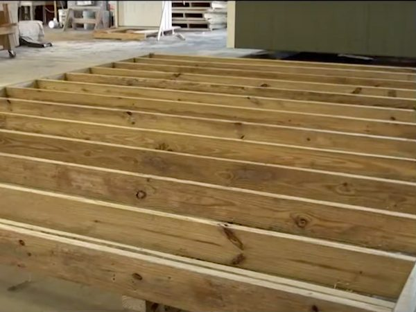 wood shed solid joists on sheds in cuba missouri